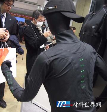 圖二、MAS公司利用杜邦材料製作的安全夾克,適合夜間跑者穿著