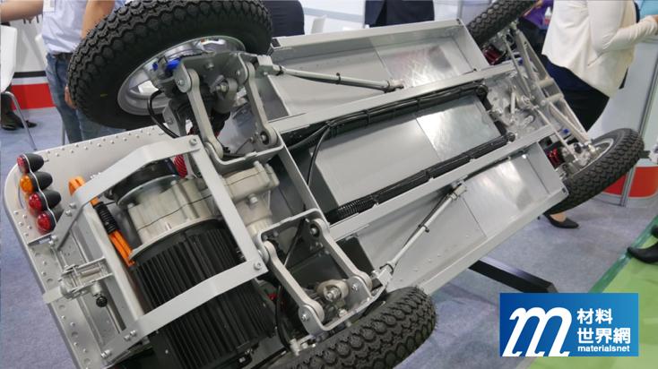 圖四、富田電機與國內業者合作打造多用途車輛,整合機電、控制、減速與車體裝置,開拓新市場可能