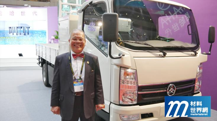 圖八、哈哈世代推出電油增程動力系統,強調可延長電動車續航性
