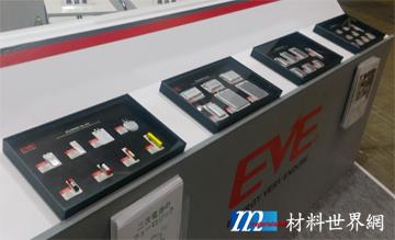 圖九、億緯鋰能展出之電子菸、智慧手表、智慧型手機等應用