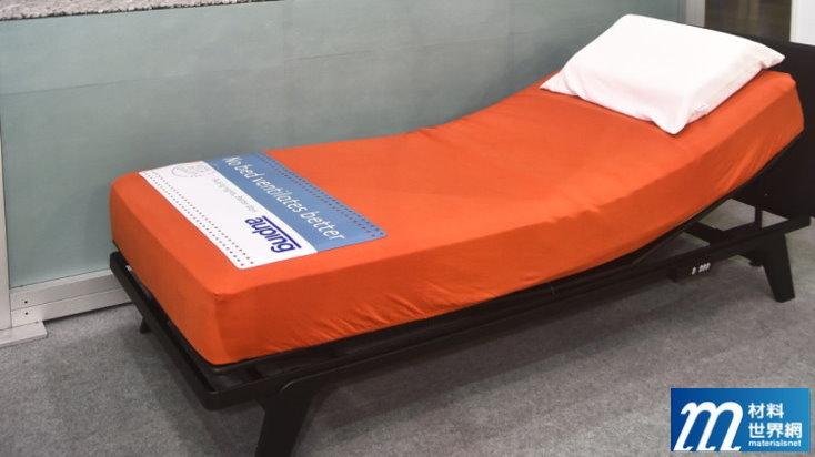 圖八、第一個獲得C2C銀色認證的床組,也將在國內推廣床墊回收再用概念