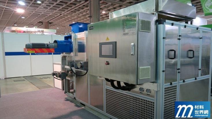 圖八、格泰綠能科技帶式污泥低溫乾燥機,占地小能耗少操作簡便