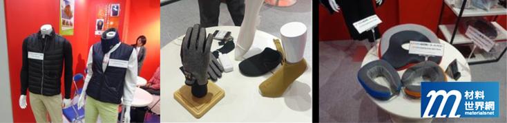 圖二十、Sanki Consys具加熱功能之背心、手套、頸枕