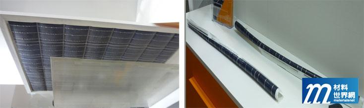圖二、PV TECHNO RECYCLE CO.,的廢模組拆解後部品分類