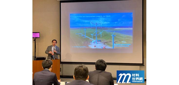圖六、Vestas研討會中介紹新型多葉片設計風力機