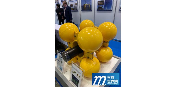 圖九、福島海上浮動式風力機海纜創新設計