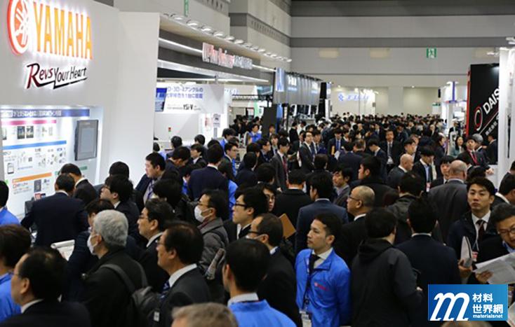 圖三、會場內人潮洶湧,在東京奧運年展現出電子業的豐沛活力