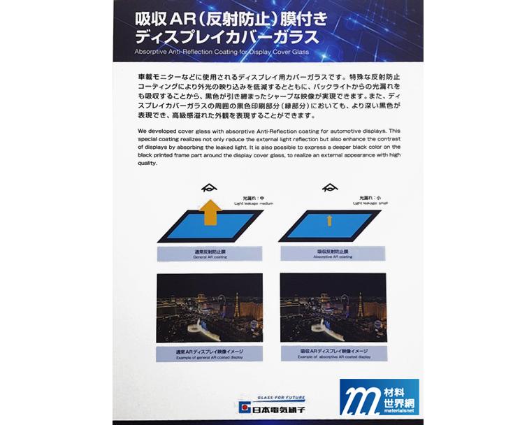 圖二十三、吸收AR膜能吸收洩漏光線,使影像對比度提高