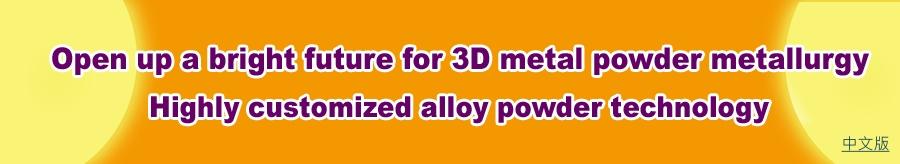 High-value alloy powder solution